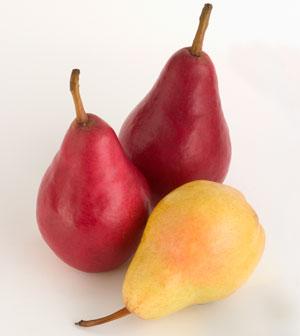 Starkrimson and Bartlett Pears