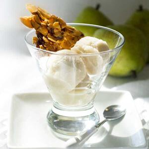 Dairy-Free Pear Ice Cream