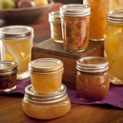 gingered pear jam