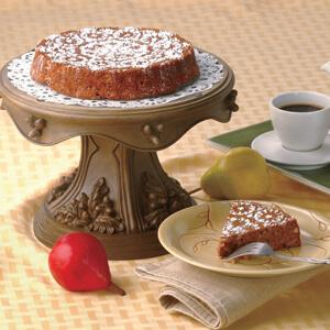 Lacy Pear Coffeecake
