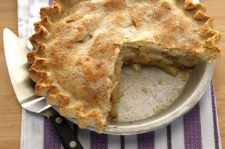 whole-wheat pear pie