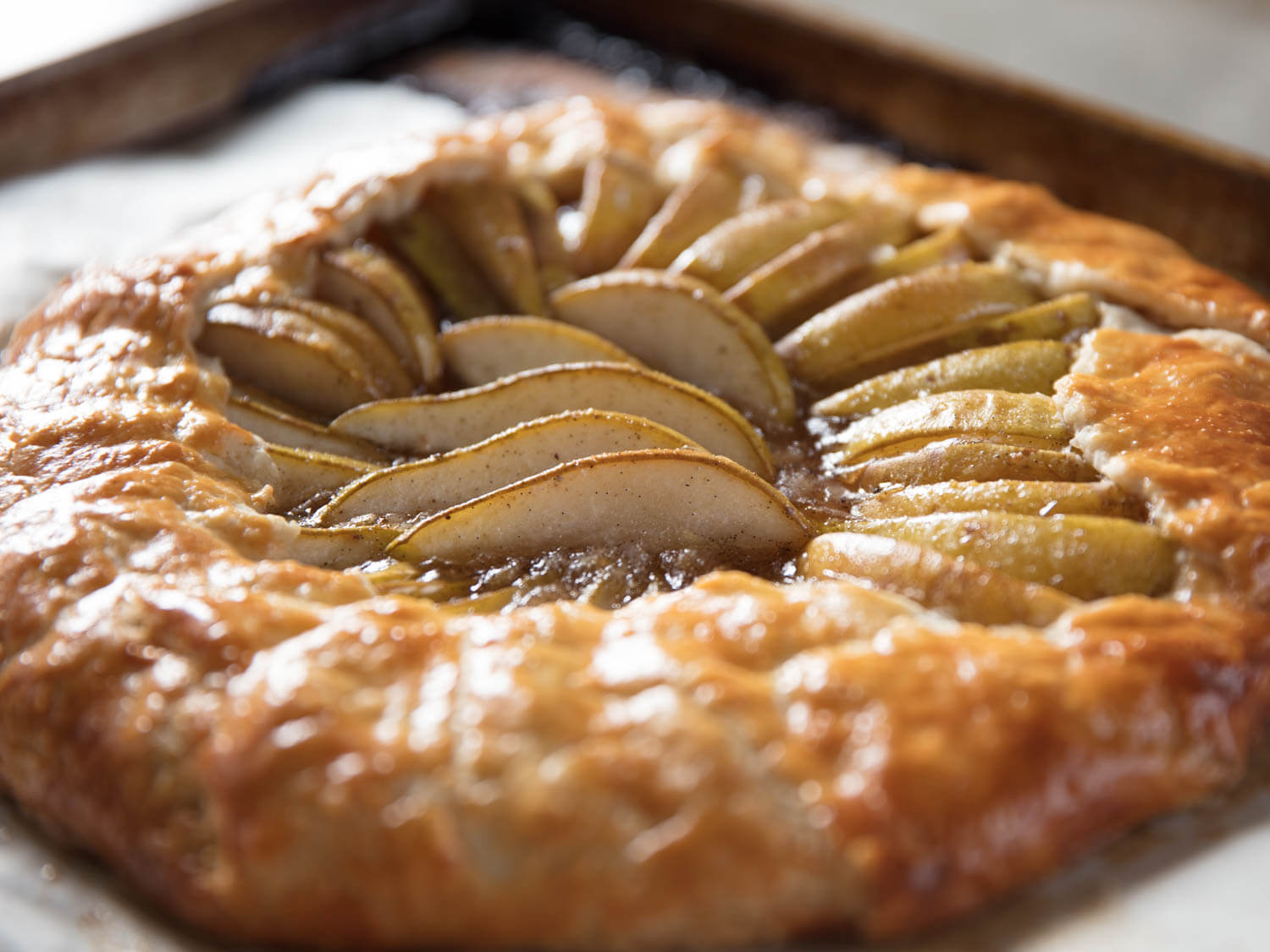 How to Make a Pear Galette With Better Pear Flavor